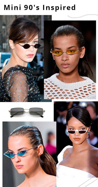 Meio Matrix? Total! O mini-óculos que marcou a década de 90 veio à tona ao lado de várias trends também da mesma época. Mas eles prometem ficar por mais tempo, já que são super fáceis de usar e dão um charme extra quando usados mais abaixo dos olhos. oculos - mini - trend - copiar - comprar