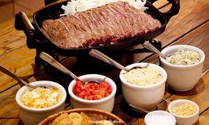 Groupon - Rio's Gourmet – Méier: picanha acebolada e 2 Chopp Brahma, para 2 pessoas, de R$  66,10 por R$ 39,90 em Rio de Janeiro. Preço da oferta Groupon: R$39,90