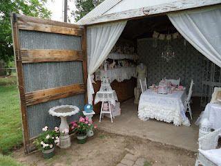 Tea in the Barn