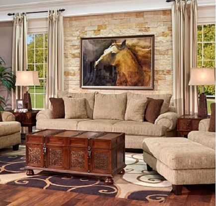 Bring a larger-than-life feeling of comfort to your home with our beautifully constructed Brenham Sofa! Deep plush cushions, low-profile arms, and soft chenille fabric make this the perfect sofa for relaxation. Square block feet provide support with contemporary flair. With Gallery Furniture's same-day delivery service, you can have this sofa in your home TODAY! | Houston TX | Gallery Furniture |