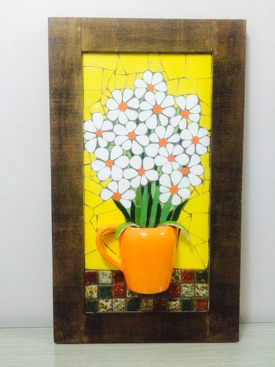 Mosaic - Quadro para varanda- Mosaico