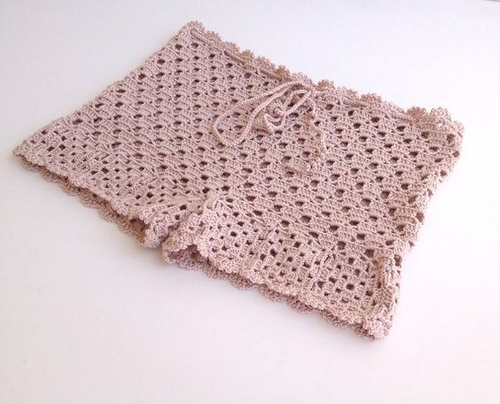 polvo rosa Crochet Shorts encaje cortos trajes de por senoAccessory