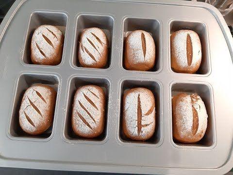 39 Kornerbrotchen Aus Der Mini Kuchenform Youtube Mini Kuchen Essen Und Trinken Kuchenform