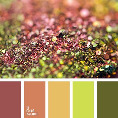 rustic color palette: