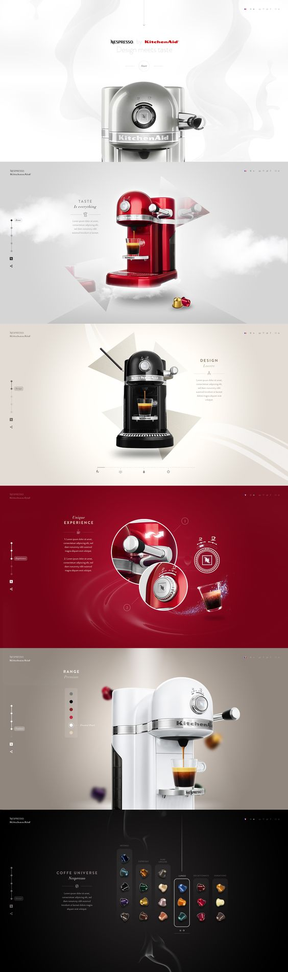 creative and trendy web designs