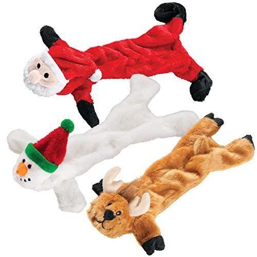Dgs Stuffing Free Christmas Dog Toys Set Of 3 Dogtoys
