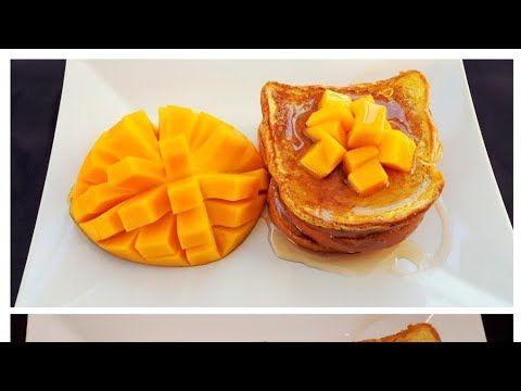أفكار لفطور الأطفال التوست الفرنسي بالمانجو فرنش او فرنج توست French Toast With Mangoes Youtube Desserts Food Fruit