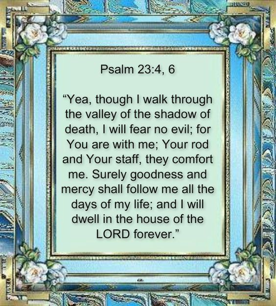 psalm 23 memorial day tribute