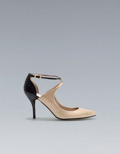 CHAUSSURE HAUTEUR MOYENNE POINTE - Chaussures - Femme - ZARA