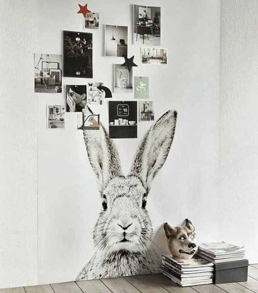 ook leuk voor aan de muur met mooie zwart wit foto's van onze kleintjes.. :-)
