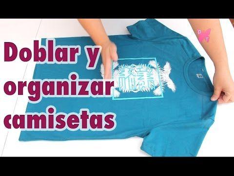 Cómo Doblar Camisetas En Vertical En 2 Segundos Ahorrar Espacio En Tu Armario Youtube Doblar Camiseta Ahorrar Espacio Doblar Suéter