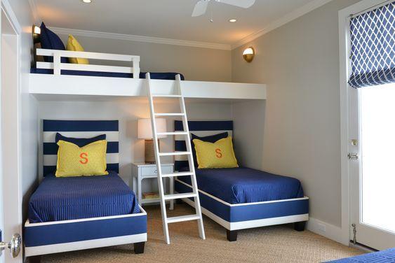 35 Habitaciones Para Tres Niños Habitación Para Tres Niños Habitaciones Infantiles Decoraciones De Interiores Dormitorios