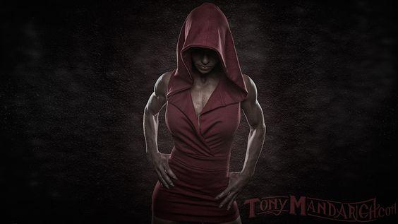 Photograph Big Red Riding Hood by Tony Mandarich on 500px