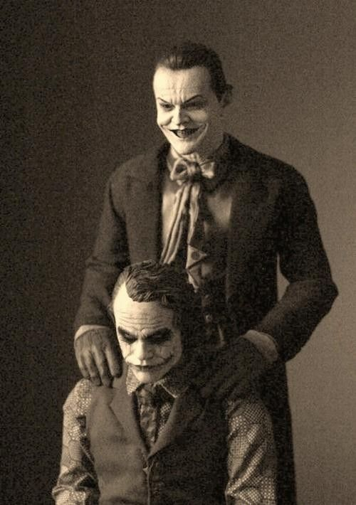 Both jokers, best pic ever.