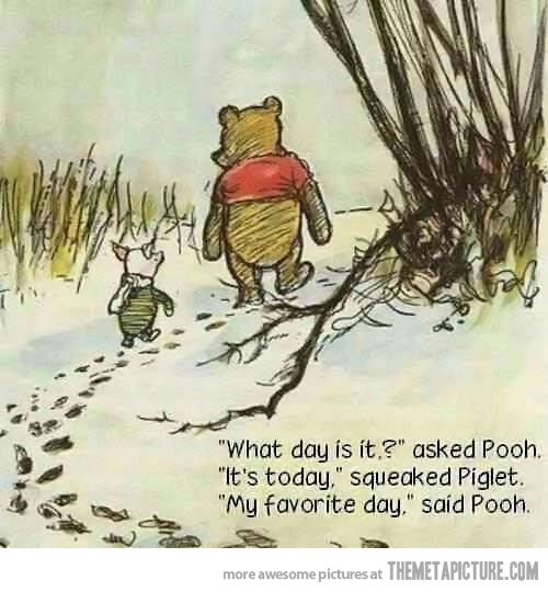 My favorite day…