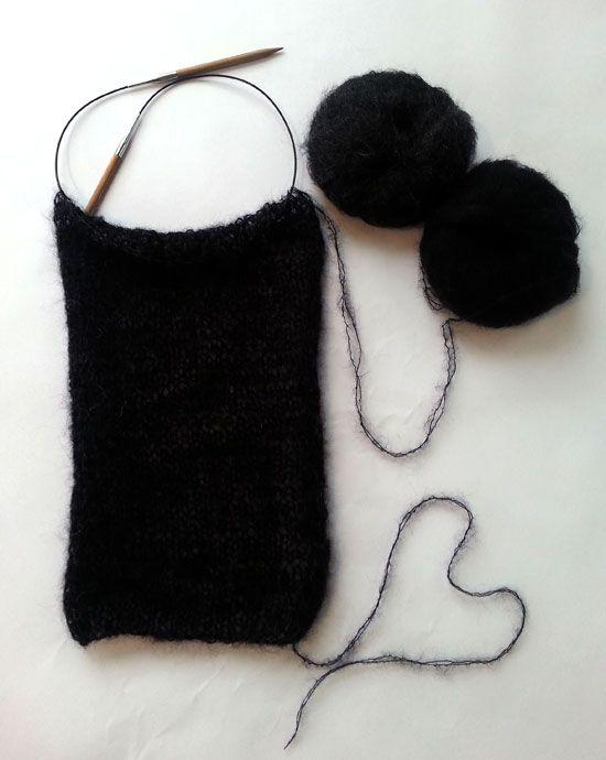 Ich hab mich getraut!  Ich hab mir ein Großprojekt vorgenommen!  Natürlich nicht ohne Rückversicherung,  dass die liebe Ulrike sozusagen Tag und Nacht erreichbar ist!     Mein erster Pullover!