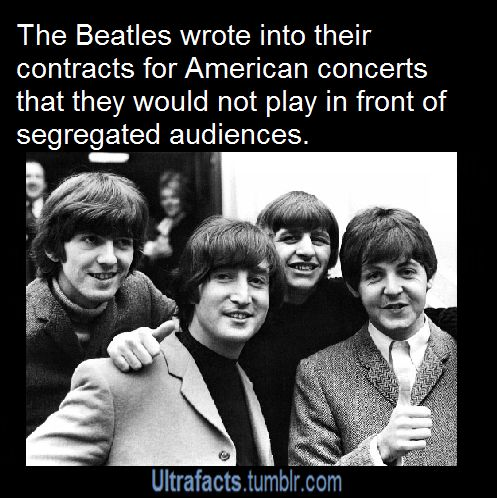 And people wonder why The Beatles are my favorite band! Yes! they said that Blackbird was written about the US civil rights movement