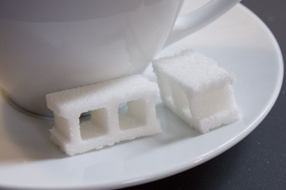 Sugar Blocks by John Truex, via Behance