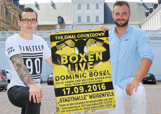 Dominic Bösel und sein WG-Partner und Teamkollege Felix Lamm haben ihre intensive Vorbereitung auf die nächste SES-Box-Gala in Weißenfels heute abgeschlossen.