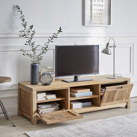meuble tv bois mobilier de salon