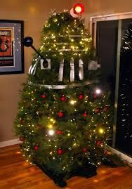 Dalek Christmas tree hahahaha!!!!!!!!!!