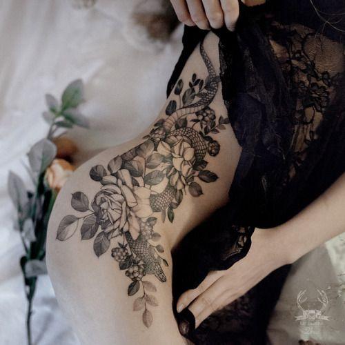 Snake Tattoo By Zipinblack Serpent Tattoo Snake Tattoo