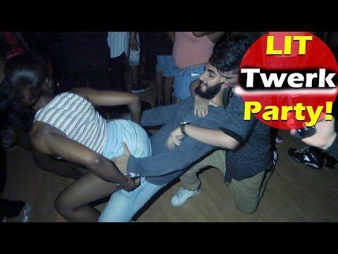 Super Lit College Twerk Party In Burbank Youtube Twerk College House Party Party Mix
