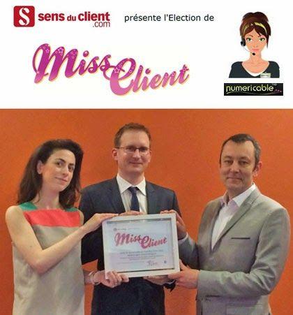 Sens du client - Le blog des professionnels du marketing client et de la relation client: Emilie (Numericable) est élue Miss Client 2014
