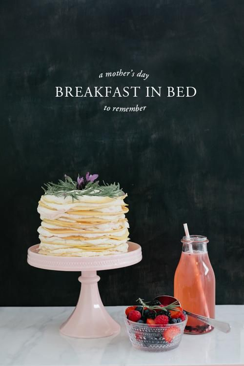 crepe cake breakfast in bed crepes the honest lavender breakfast honey ...