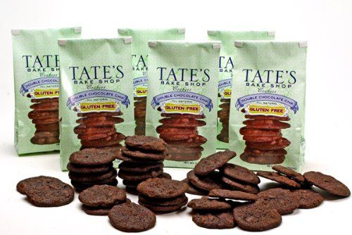Tate's Bake Shop Gluten-Free Double Chocolate Chip (All Natural), TWELVE Bags, Each Bag is 7 oz (Pack of 12) - http://bestchocolateshop.com/tates-bake-shop-gluten-free-double-chocolate-chip-all-natural-twelve-bags-each-bag-is-7-oz-pack-of-12/