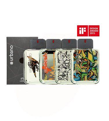 Uma única fragrância com um ingrediente exclusivo e inédito na perfumaria mundial, o Akigalawood, #urbano traz quatro versões de arte-surpresa, todas com o mesmo código de venda. Descubra qual será a sua ao abrir a embalagem.
