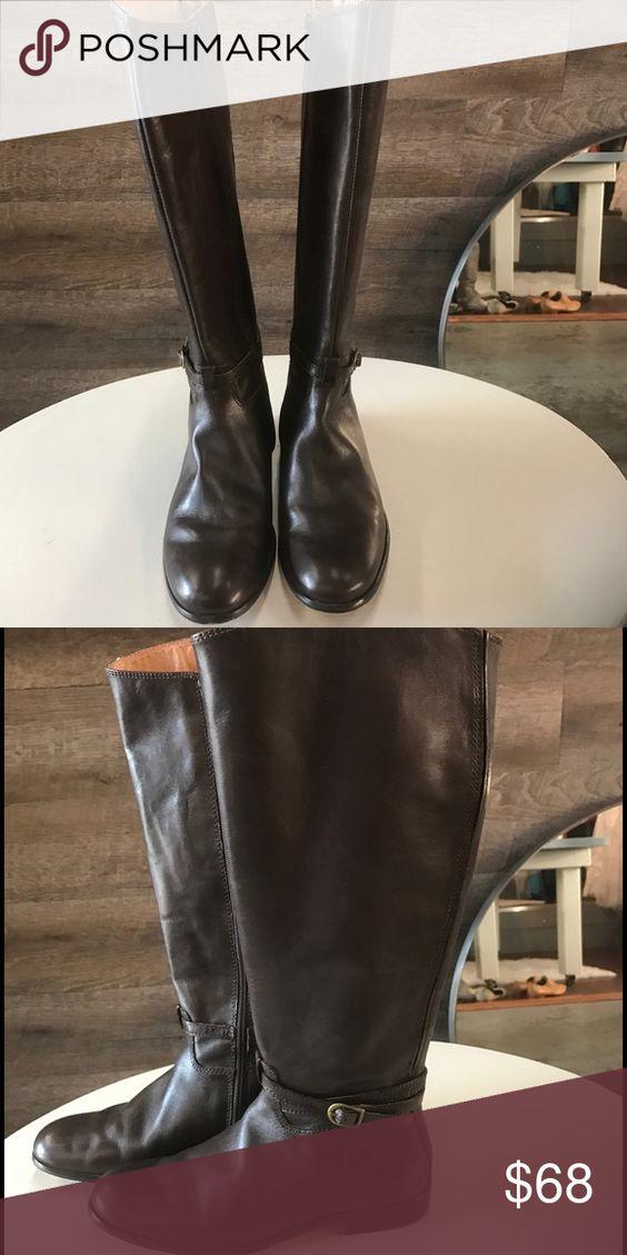 Corsco Como tall brown boots Corsco Como tall brown boots Corso Como Shoes Winter & Rain Boots