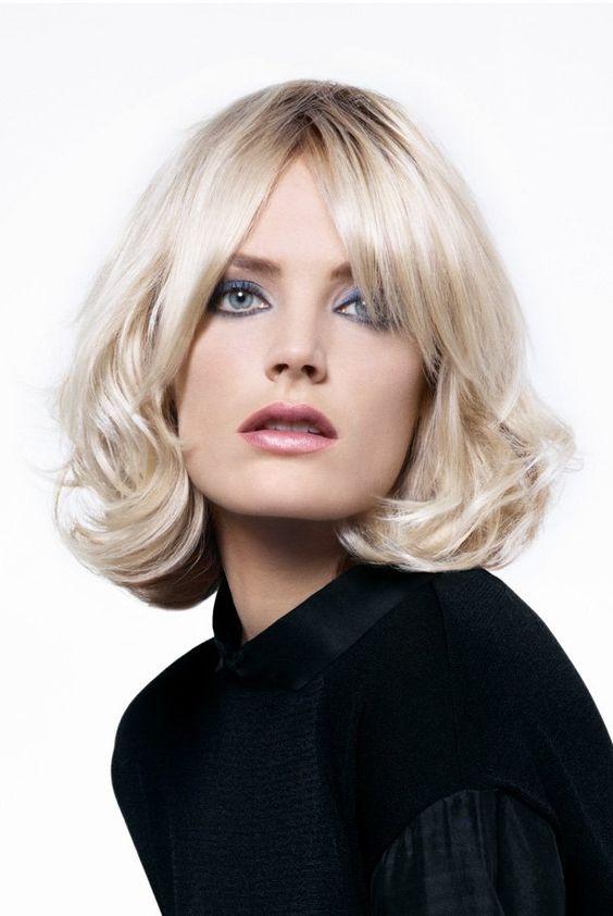 cheveux mi longs cheveux ideales jacques dessange coloration blonde neo mode coupes de coupe cheveux long ondul carr mi - Jacques Dessange Coloration