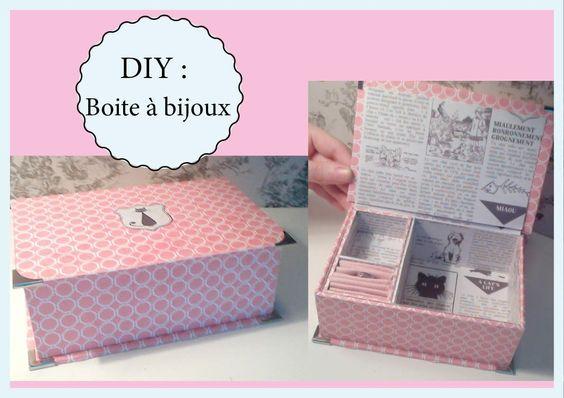 coucou je vous propose un tuto pour fabriquer votre propre boite bijoux pour le papier. Black Bedroom Furniture Sets. Home Design Ideas