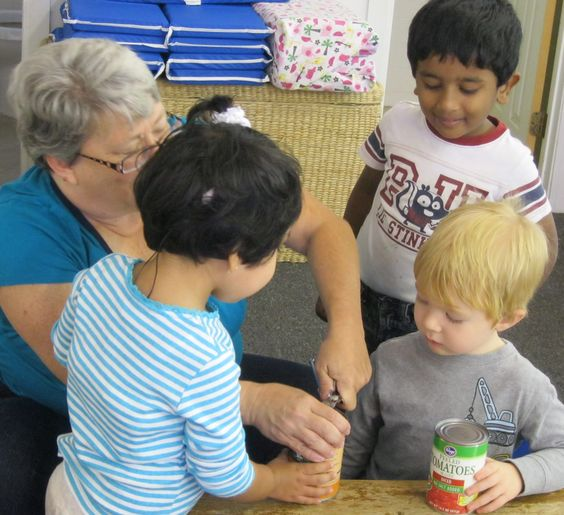 """Ms Judy read and discussed the book """"Stone Soup"""" with her class. After reading the book, the children made vegetable soup."""
