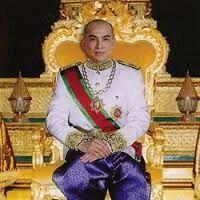 Norodom Sihamoni,  the King of Cambodia