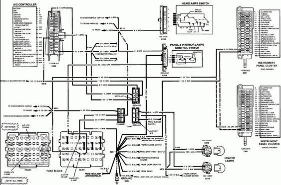 15 1984 Chevy Truck Wiring Diagram Truck Diagram Wiringg Net In 2020 1985 Chevy Truck 1984 Chevy Truck Chevy Trucks