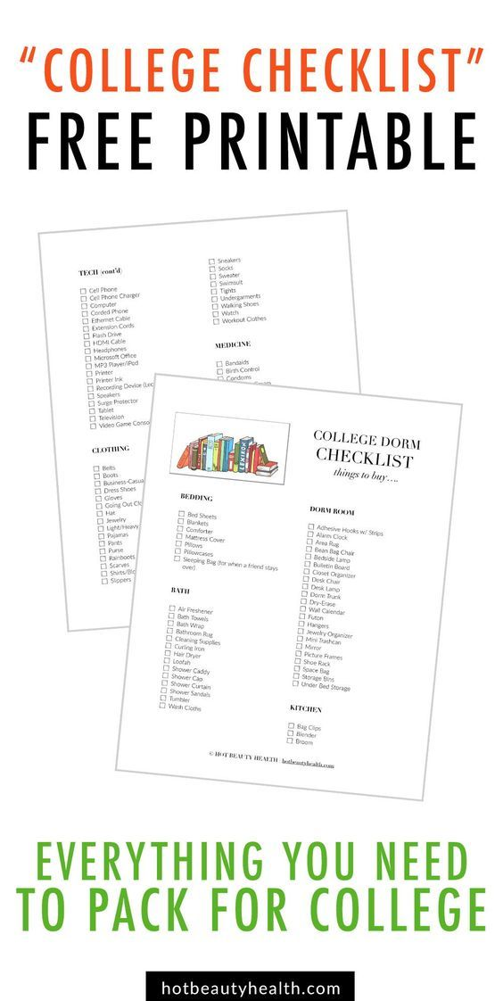 College Checklist 250 Dorm Room Essentials Dorm Checklist College Checklist Dorm Room Checklist