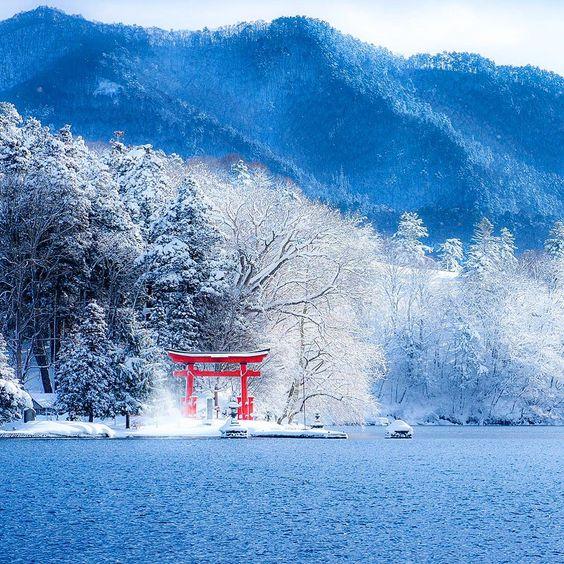 「⛄️⛄️⛄️ 2016.1.22 ⛄️⛄️⛄️ 明日は大荒れの天気だそうで・・・ 仕事休みでよかった〜 一日引きこもってたまった録画消化しよう 外出される方はくれぐれもお気をつけて . . . #野尻湖 #長野県 #japan #ig_shutterworld」