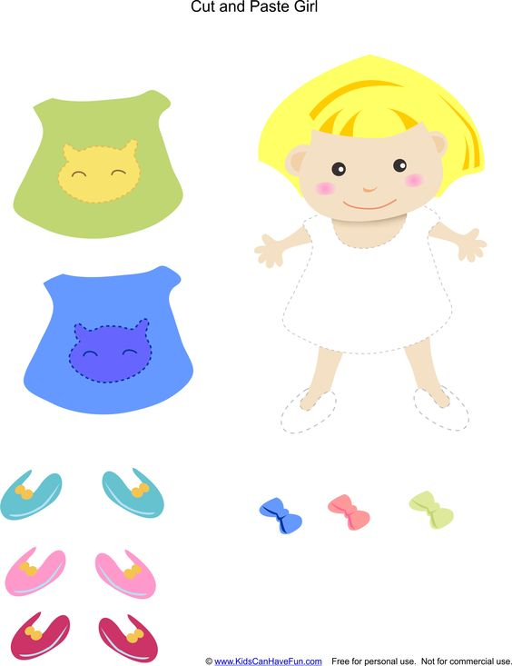 Printables Preschool Cut And Paste Worksheets cut and paste activities girls on pinterest worksheets to help kids practice their fine motor skills learn how shapes animals sports food numbers a va