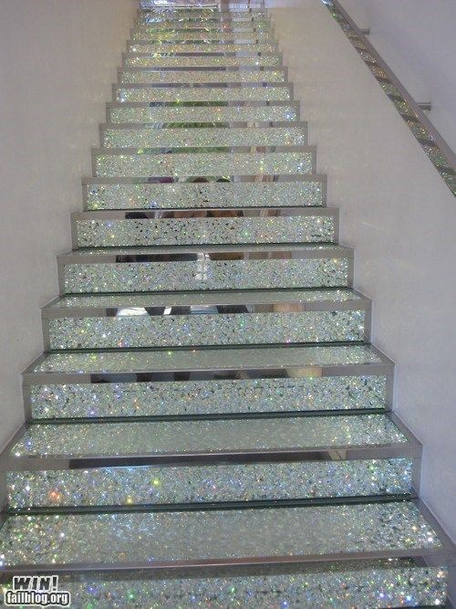 glitter stairs - Google Search