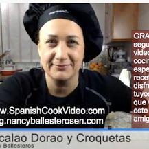 """VIDEO RECETA """"Croquetas de Bacalao"""" y """"Bacalao Dorao"""" http://bit.ly/video-receta-croquetas-bacalao-y-bacalao-dorao"""