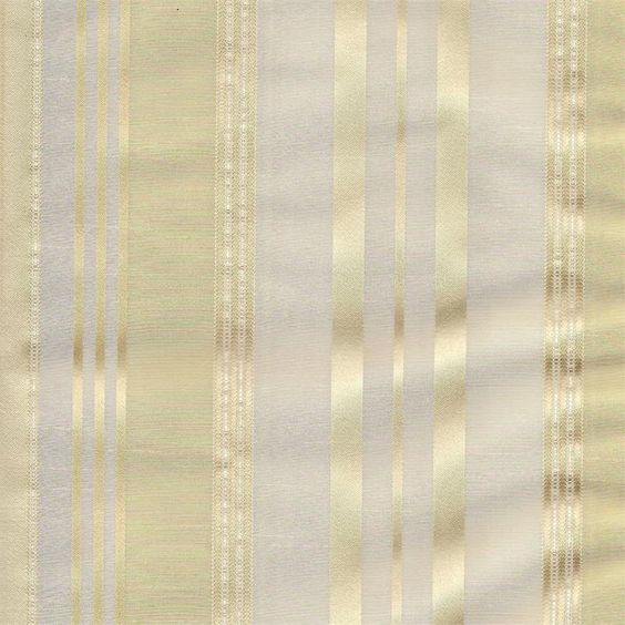 Kitchen Curtains 36 inch kitchen curtains : Florence in Cream color with champagne gold stripes in poly blend ...