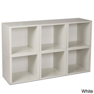 Mmmm cubes... Maybe put the TV on it and have storage underneath for movies, etc. Modular zBoard Storage Cubes (Set of 6)
