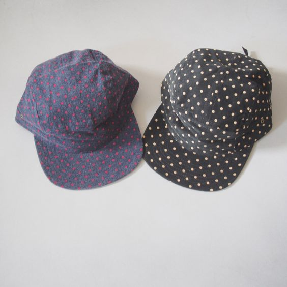 Image of Fairends camping hat-polka dot