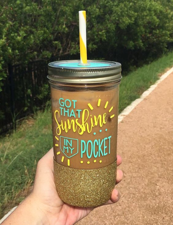 Hey, I found this really awesome Etsy listing at https://www.etsy.com/listing/462720443/sunshine-in-my-pocket-mason-jar