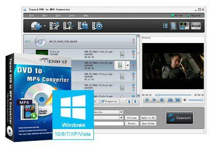 Tipard DVD to MP4 Converter 7.1.56 Multilingual Full and FREE Download