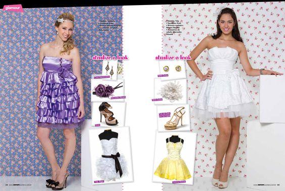 Edição 29 Revista Debutante Acontece  Editorial Glamour