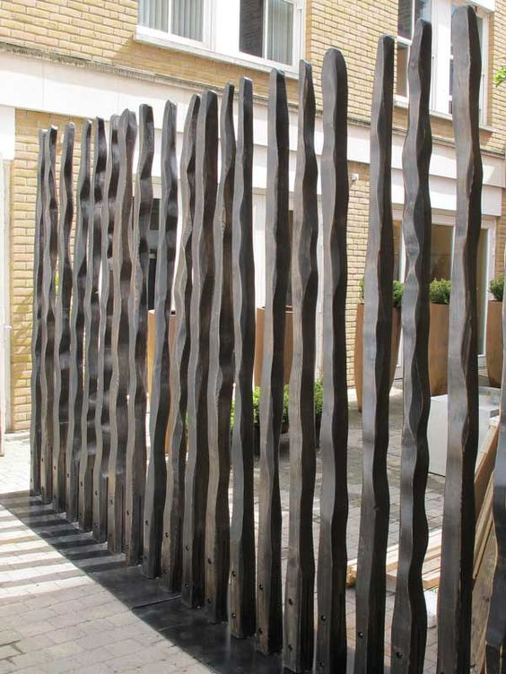 modern garden fence divider enclose pinterest