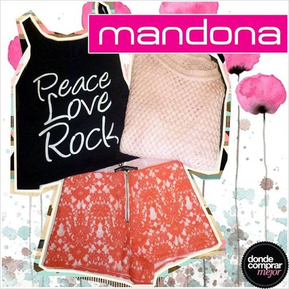 Diosa y canchera con este outfit de Mandona Tienda. ¿Qué te pareció? www.dondecomprarmejor.com